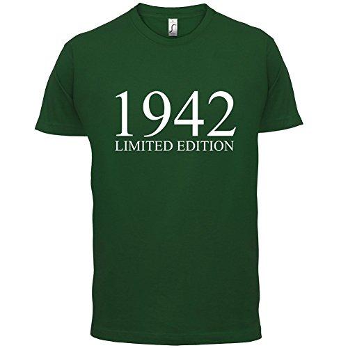 1942 Limierte Auflage / Limited Edition - 75. Geburtstag - Herren T-Shirt - 13 Farben Flaschengrün
