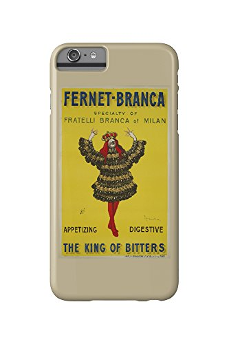 Price comparison product image Fernet - Branca - The King of Bitters (artist: Cappiello,  Leonetto) France c. 1909 - Vintage Poster (iPhone 6 Plus Cell Phone Case,  Slim Barely There)