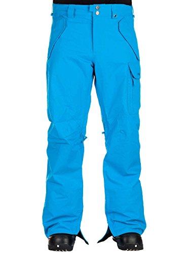 Burton, Pantaloni da snowboard Uomo MB Poacher, Turchese (Antidote), XL