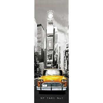 GB eye Ltd DP0295 Poster New York Taxi Numéro 1 53 x 158 cm