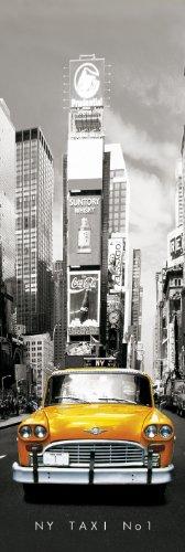 GB Eye LTD, New York, Taxi No 1, Poster Porte, 53 x 158 cm