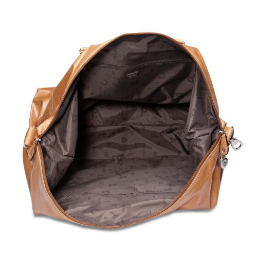 Borsa da viaggio in pelle Picard Weekend 45 cm Marrone (Cognac)