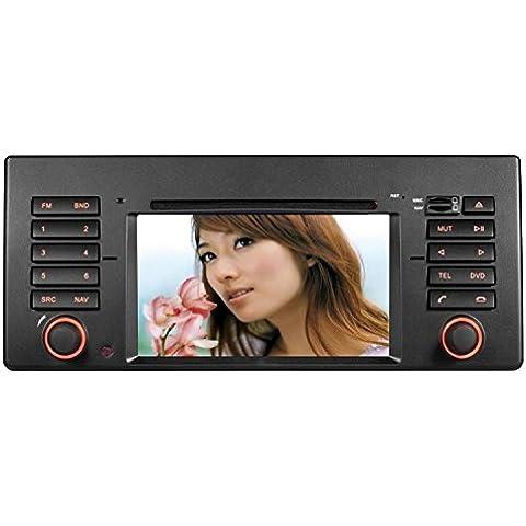 GOWE coche reproductor de DVD 6.2pulgadas GPS Navegación para BMW 7Series E38Serie 5E391998–2006con Bluetooth/Radio/RDS/iPod/ATV/Canbus/SWC