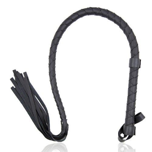 eeddoo Peitsche - schwarz - Fetisch BDSM Bondage Rollenspiel Sex-Spielzeug - Peitsche - schwarz (Black Single Tail Whip)
