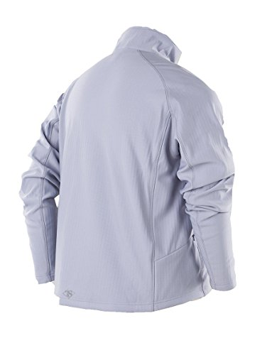 tru-spec Men' s 24/7zip thru Grid Fleece felpa Smoke
