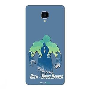 PosterHook Hulk-Avenger Designer Case for OnePlus 3