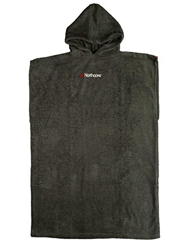 Northcore Beach Basha Poncho / Changing Robe GREY NOCO24C