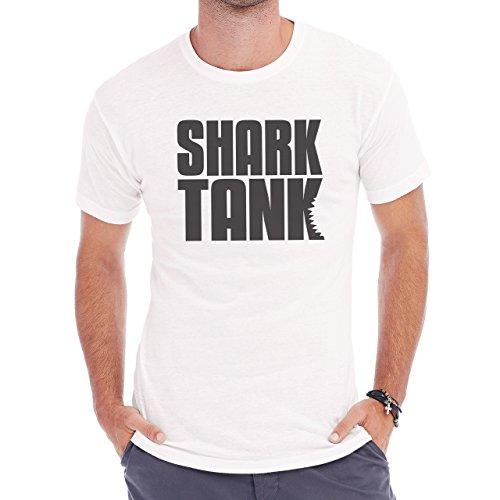 Shark Sea Fish Predator Tank Herren T-Shirt Weiß