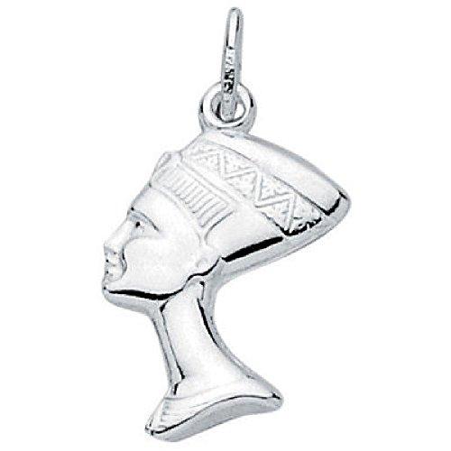 Colgante Nefertiti Esposa Real Egipto Plata