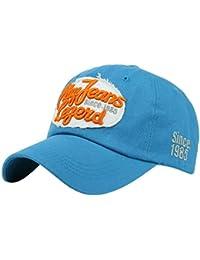 Baseball Kappe Sunday Unisex Frauen Männer Buchstaben Denim Baseballmütze Snapback Hip Hop Flachen Hut