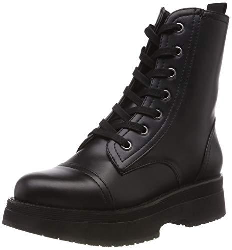Fornarina carnaby2 sneaker a collo alto donna, nero (black) 39 eu