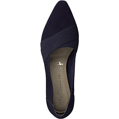 Bleu Femme Marine Tamaris Fermé Chaussures 76yvfYbg