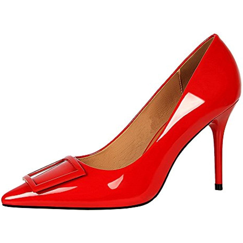 Escarpins Femmes à à Talons, Mince Chaussures à à Talons pour Femmes à Bouts Ronds Confortables Chaussures Mode, Féminine... - B07DDC6F79 - 3fbf22