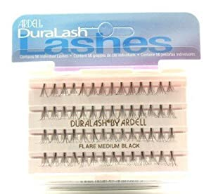 Ardell Duralash Flare Medium Black (56 Lashes) (3-Pack)