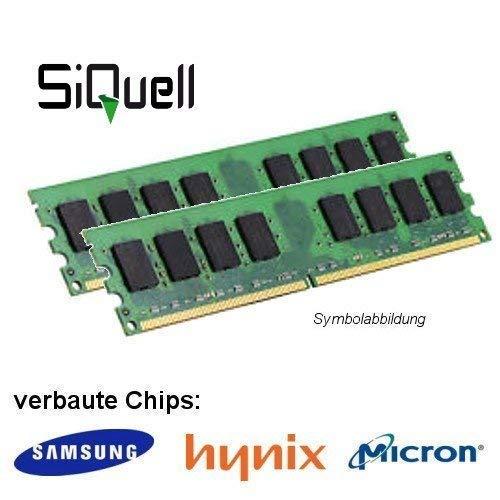 4GB (2x 2GB) DDR2 800MHz (PC2 6400U) LO Dimm Computer PC Desktop Arbeitsspeicher RAM Memory Samsung Hynix Micron -