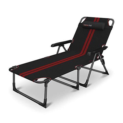 Dall Chaise Longue Chaises Pliantes Chaise De Bureau Camping Balcon du Jardin Balancelle Chaise De Plage Ergonomie (Couleur : A)