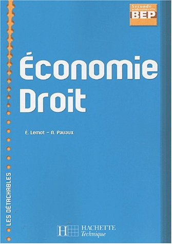 Economie Droit 2nde professionnelle/BEP