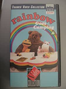 Rainbow Goes Camping [VHS]