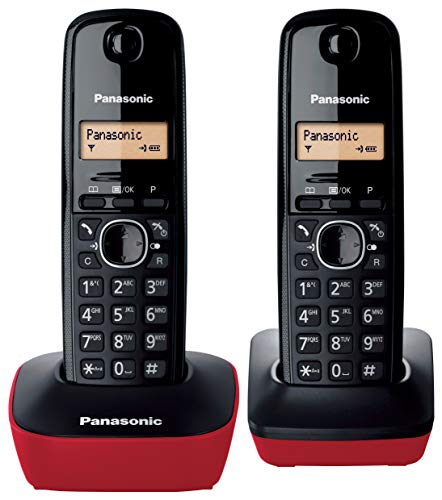 Panasonic KX-TG1612, Teléfono Fijo Inalámbrico Dúo