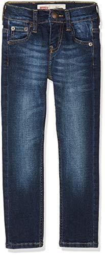Levi's Kids Jungen Jeans Trousers NM22297 Blau (Indigo 46) 14 Jahre (Herstellergröße: 14A) (18 Levis Jungen Slim)
