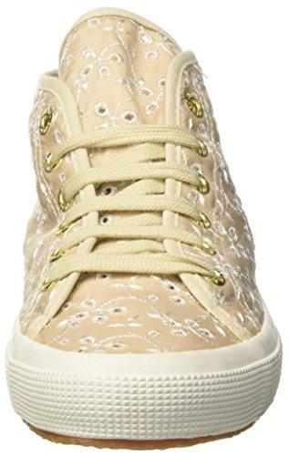 Superga Damen 2754-Sangallosatinw Hohe Sneaker Avorio (Ivory)