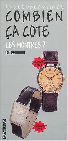 Combien ça cote : Les montres par Collectif