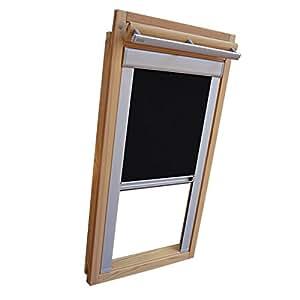 Easy-shadow store occultant pour fenêtre de confort type fakro/fT/pK fK/fTP fE// fL/pTP taille 10–114 glasmaß 118/(101,3 x 98 cm)-la couleur noir