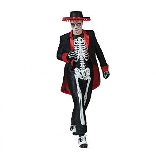 Generique - Dìa de Los Muertos Halloween Kostüm -