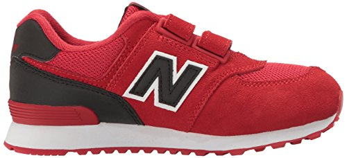 New Balance Unisex-Kinder Kv574cxy M Hook and Loop Sneakers Rot (Red)
