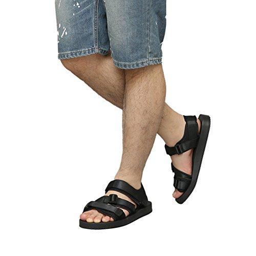 De Puro Unissex Confortáveis Sandálias Cores resistentes Chinelos Apartamentos Respiráveis Praia meijunter Deslizar Preto Sapatos qI88Rw