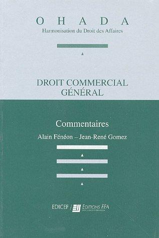 Droit commercial gnral : Commentaires