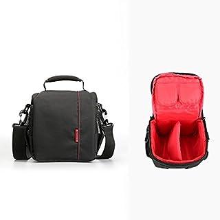Amcool Portable Kamerarucksäcke für Canon Nikon Sony, Luxus Wasserdicht DSLR Fall Kamera Tasche(Rot)