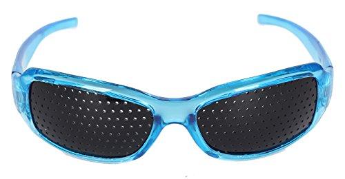 HealthPanion 1 Ensemble de Lunettes de Repos à Sténopé - (bleu)(AH Blue  Pinhole Glass) - Lunettes à Grille - Lunettes à Grilles - Lunettes à Grille  Optique ... a3f721d2eaf0