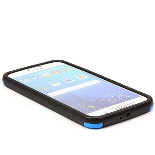 URCOVER® Housse Coque Tactile Complet | Apple iPhone 5 / 5S | Plastique Vert | Étui Téléphone Portable Sac Protection Écran Armor Cover Case Bleu
