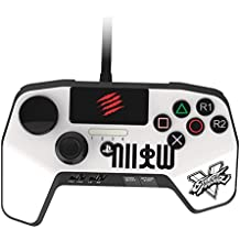 Mad Catz - Street Fighter V FightPad Pro, Ryu, Color Blanco