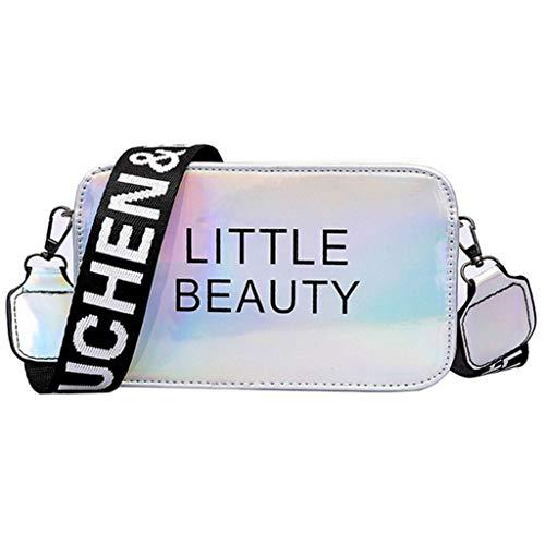Mitlfuny handbemalte Ledertasche, Schultertasche, Geschenk, Handgefertigte Tasche,Neue kleine quadratische Tasche Frau Umhängetasche Mode Umhängetasche Student Handtasche