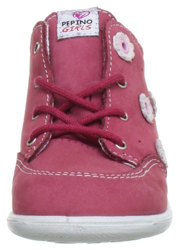 Ricosta 1927600, Chaussures basses bébé fille Rouge (Himbeer 364)