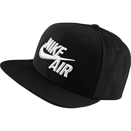 Nike U NSW PRO Cap AIR Classic Hat, Black/White, One Size - Nike Womens Golf Apparel