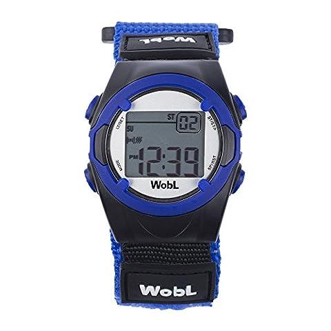 WobL Blau - Erinnerung Uhr 8 Alarme Vibration, helfen, den Übergang vom Töpfchen zur Toilette zu