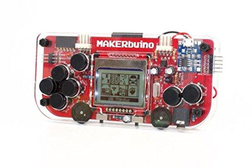Electronic games the best amazon price in savemoney makerbuino standard kit soldering kit arduino diy retro game console for kids gumiabroncs Choice Image