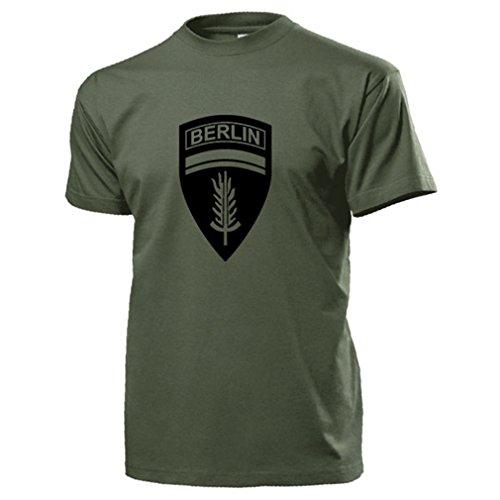 Berlin Brigade United States US Army British Infantry Wappen Abzeichen Checkpoint Charlie - T Shirt Herren oliv #17668 (Us Abzeichen Force Air)