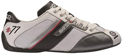 sparco-s00120442binr-time-77-zapatillas-blanco-negro-42