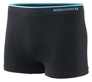 Runderwear Men's Boxer Shorts   Seamless, Chafe-Free Performance Running Underwear