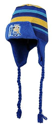 Minions cappello cuffia con copriorecchie bambino taglia unica da 2-6 anni