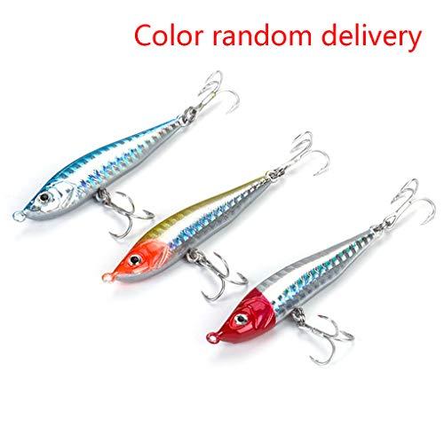 Provide The Best 7,2 Centimetri 10g Esche da Pesca Lure Fishing Hook Wobblers richiamo di Pesca a traina Casting