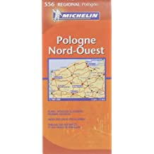 Carte REGIONAL Pologne Nord Ouest