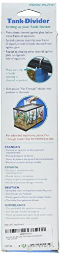 """Pen Plax TDLBX Large Tank Divider for Aquariums, 11-3/8"""" x 11-3/8"""" 2"""
