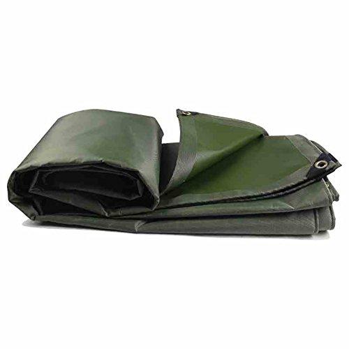 XUEYAN Durable Wasserdichte Plane Heavy Duty Regendichtes Tuch Verdicken Trap Ground Sheet Covers LKW-Isolierung Outdoor Leinwand Zelt Splice Markise Sun Shade-Grün, 580G / M² (größe : 2 * 1.5m)