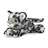 AURORA World 31367 8-Inch Mini Flopsie Snow Leopard Stuffed Toy