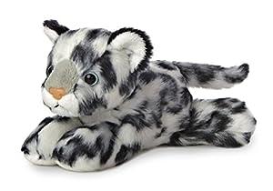 Aurora Minipeluche de Leopardo de Las Nieves estirado World 31367 de 20cm